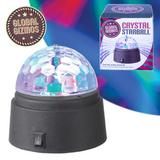 Crystal Star Ball Rotating LED Disco Light For A Party In Any Room