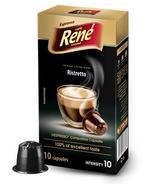 Café Rene Nespresso Compatible Capsules - Ristretto 10 Capsules