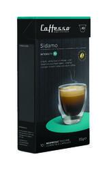 10 x Caffesso Nespresso Compatible Coffee Capsules / Pods - Sidamo  Blend