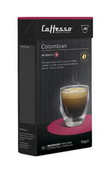 10 x Caffesso Nespresso Compatible Coffee Capsules / Pods - Colombia  Blend