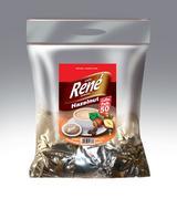 Philips Senseo 50 x Café Rene Crème HAZELNUT Coffee Pads Bags Pods