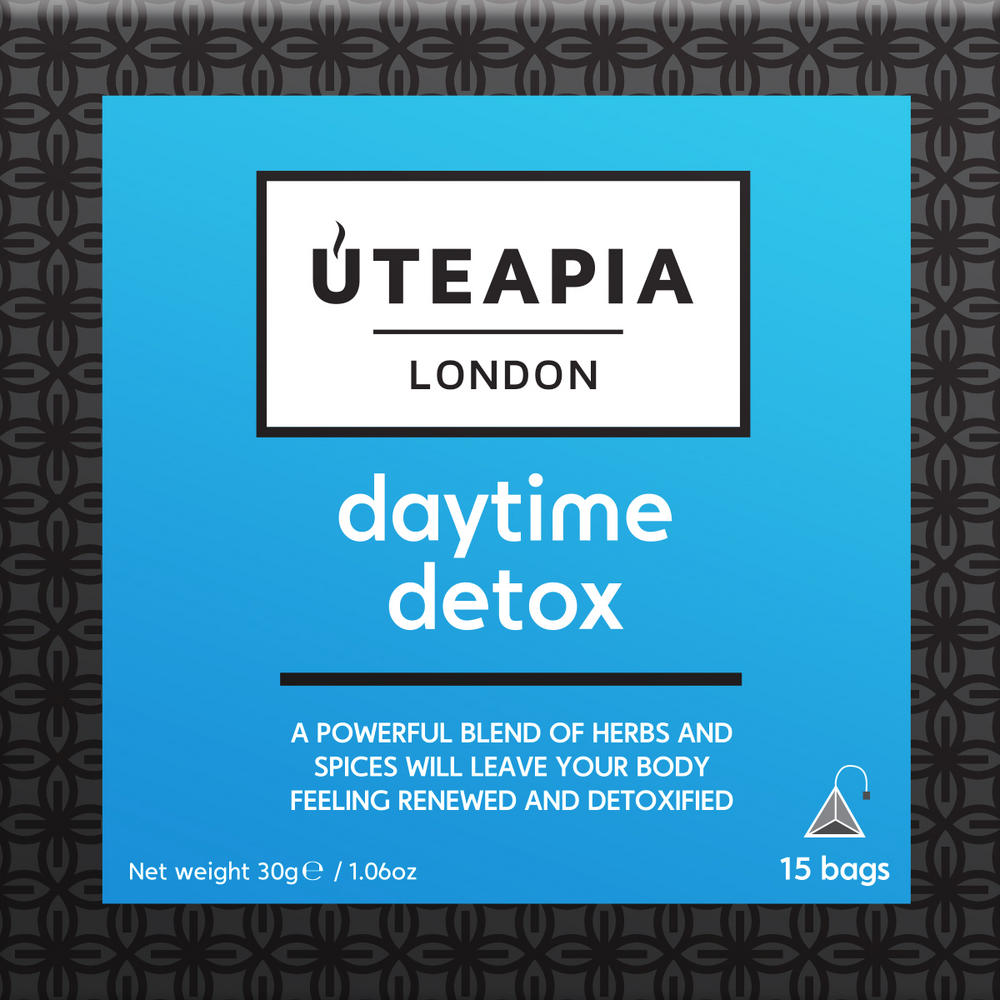 UTEAPIA LONDON Daytime Detox - 15 Tea Temples