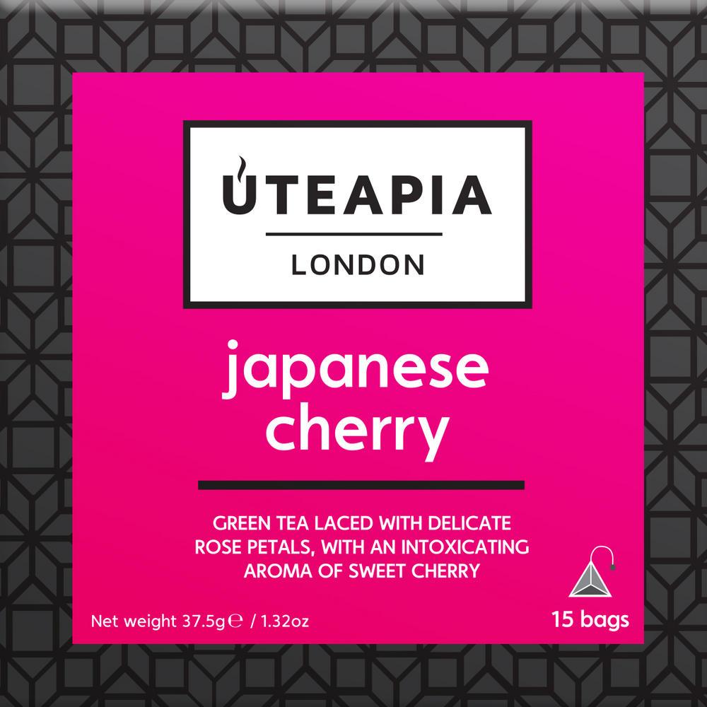 UTEAPIA LONDON Japanese Cherry Tea - 15 Tea Temples