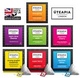 UTEAPIA LONDON Collection of 7 Speciality Tea Blends Designed for Healthy Living