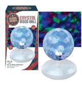 Global Gizmos 11CM Rotating Multi Coloured LED Crystal Disco Ball Party Light