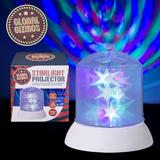 Global Gizmos LED Twinkle Starlight Projector Disco Effects Light Uses Batteries