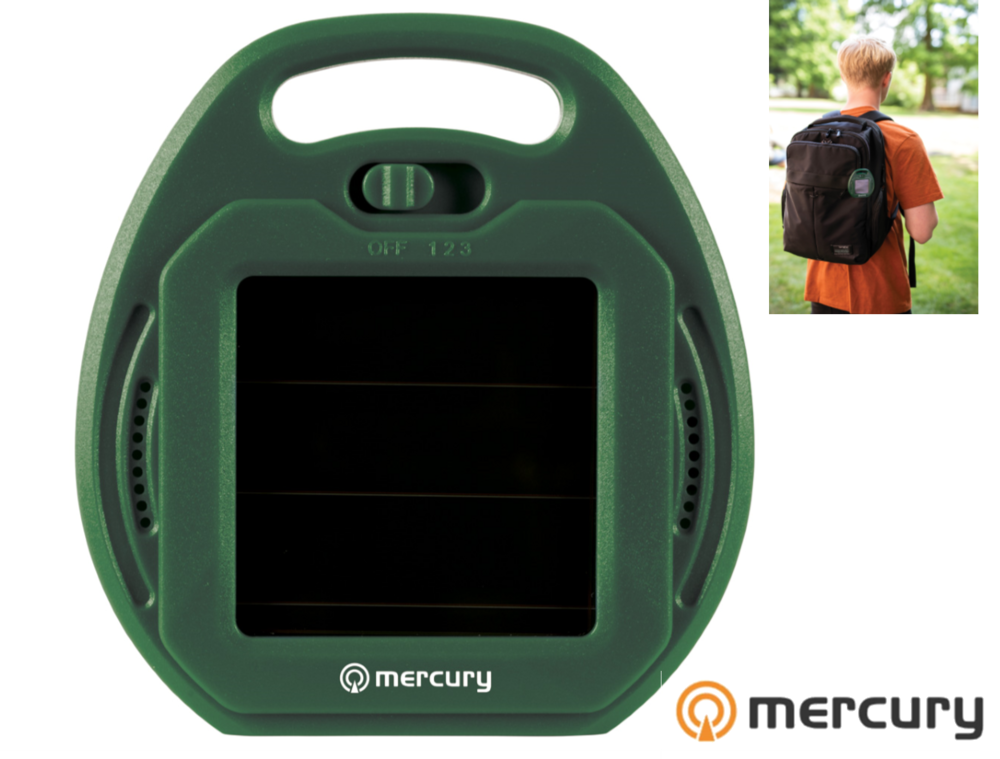 Solar Powered Ultrasonic Pest Repeller 3 Frequencies to Repel Insects and Vermin