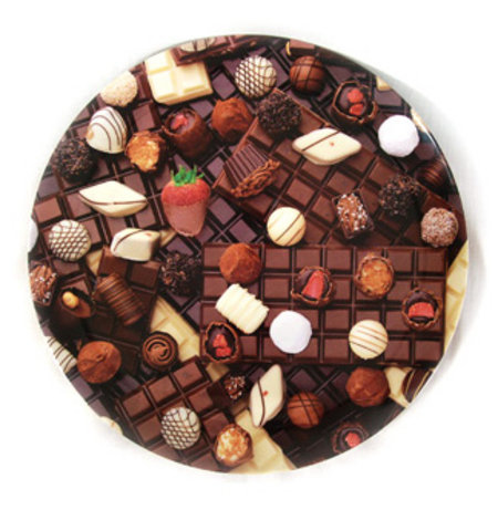 Chocolate Frenzy - 28cm Large Melamine Plate