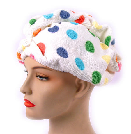 Girlfriend! Microfibre Hair Turban Polka Dot
