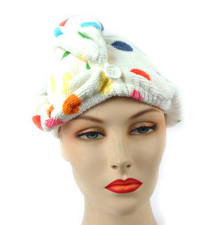 Girlfriend! Microfibre Hair Turban Polka Dot Thumbnail 2