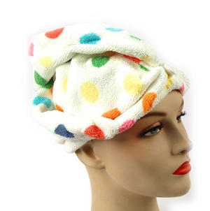 Girlfriend! Microfibre Hair Turban Polka Dot Thumbnail 3