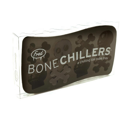 Bone Chillers Ice Cube Tray - Skull Shaped Ice Cubes