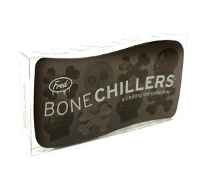 Bone Chillers Ice Cube Tray - Skull Shaped Ice Cubes Thumbnail 1