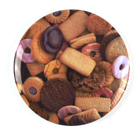 Biscuits - 28cm Large Melamine Plate