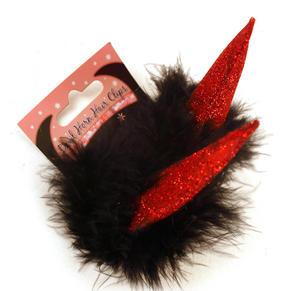 Devil Horn Hair Clips Thumbnail 2