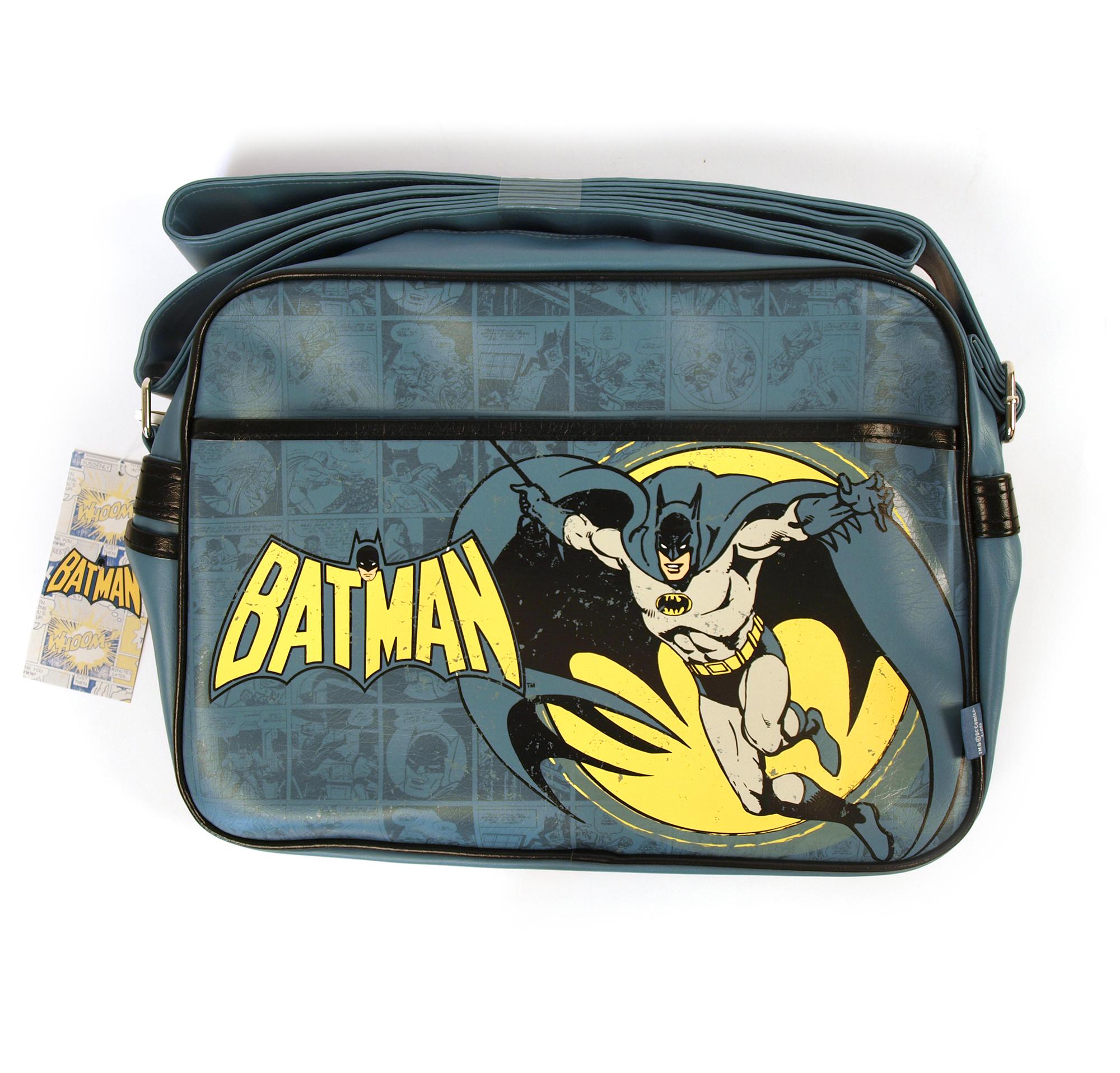 83d1fee00475 Batman Retro Style Shoulder   Sports Bag Thumbnail 1 ...