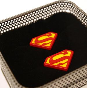 Superman Cufflinks - Classic Logo Thumbnail 1