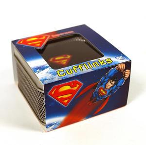 Superman Cufflinks - Classic Logo Thumbnail 2