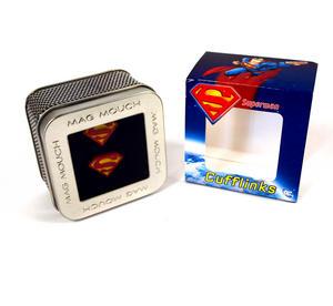 Superman Cufflinks - Classic Logo Thumbnail 3