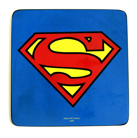 Superman Deluxe Coaster - Iconic & Supercool!!