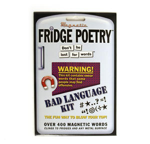 Bad Language Fridge Poetry Thumbnail 1