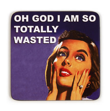 Cool Coaster So Totally Wasted