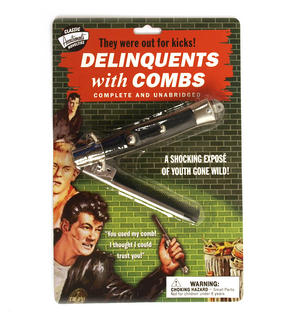 Delinquents With Combs - The Flick Comb Thumbnail 1