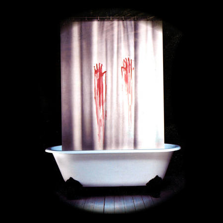 Psycho Shower Curtain With Blood