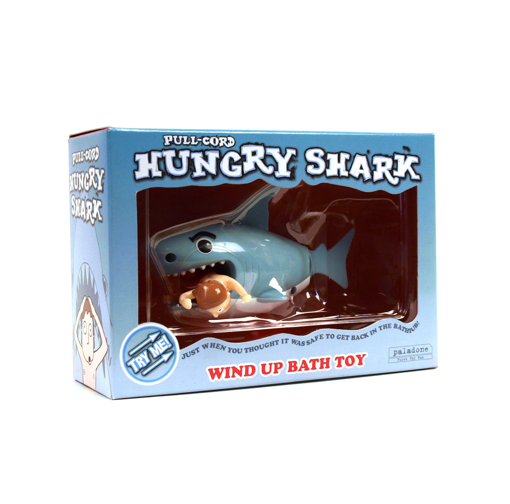 hungry shark windup bath toy pink cat shop