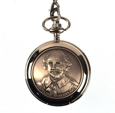 William Shakespeare Pocket Watch