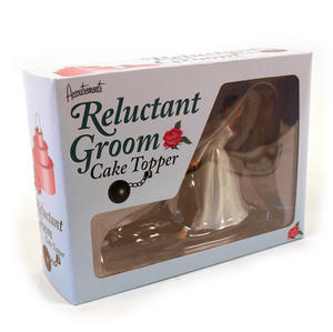 Reluctant Groom Cake Topper Thumbnail 4