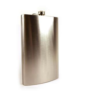 Giant Hip Flask - Holds Over 3 Pints! Thumbnail 1
