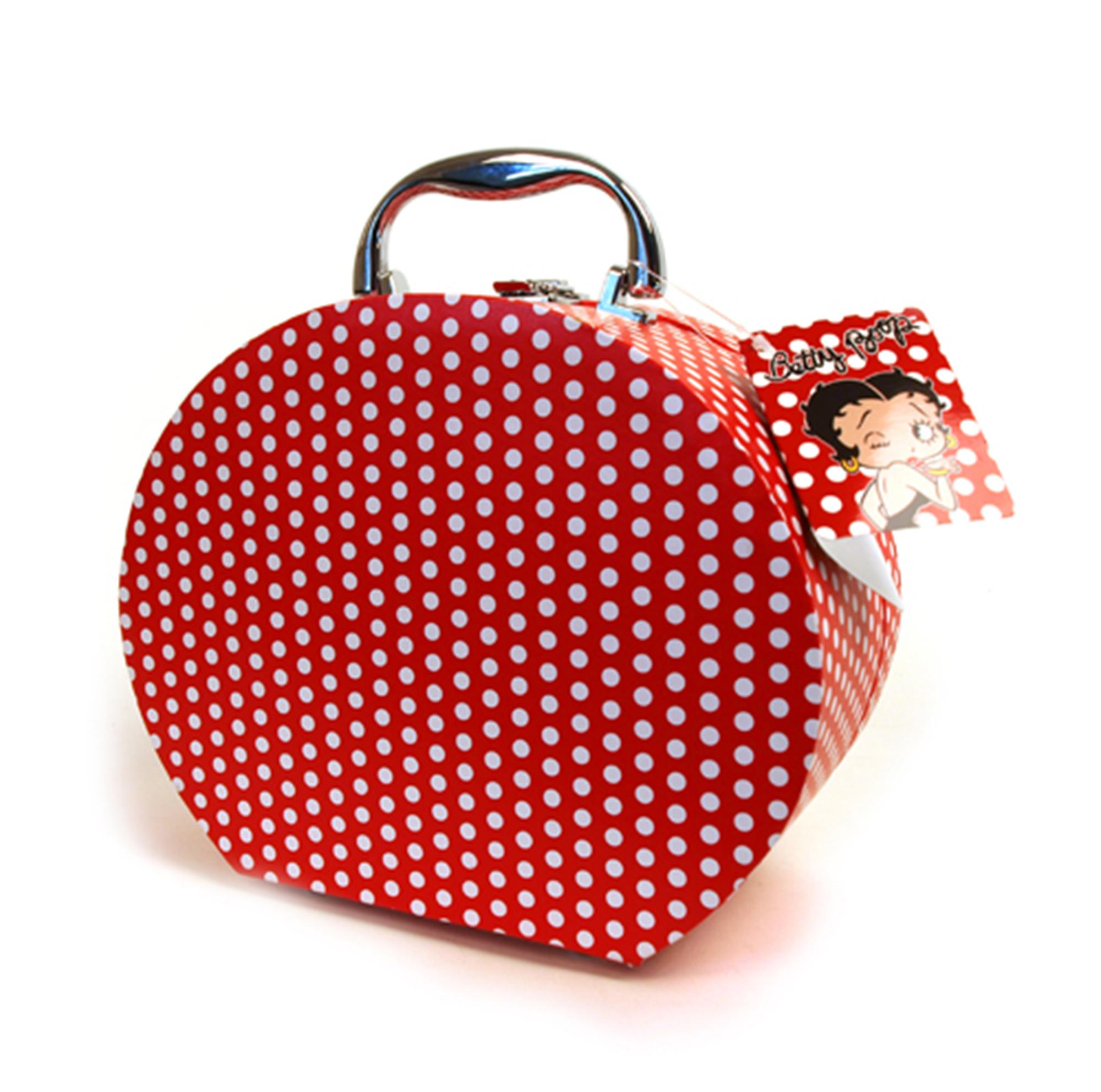 Betty Boop Themed Polkadot Stylish Vanity Case