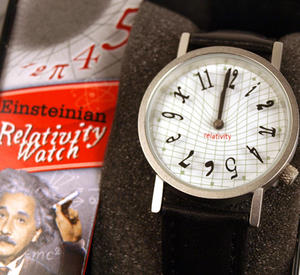 The Einsteinian Relativity Watch - The Wristwatch For Big Bang Theory Physicists Thumbnail 3