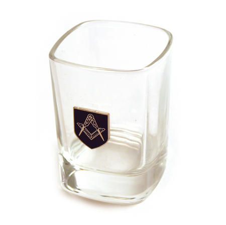 Masonic Shot Glass