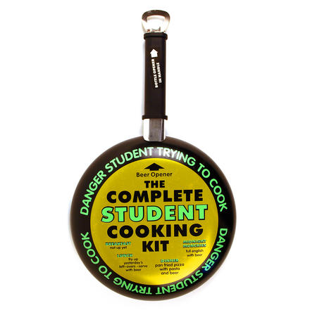 Complete Student Cooking Kit Frying Pan