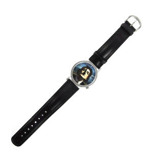 The Salvador Dali Watch - The Surreal  Wristwatch With Moustache Hands. Thumbnail 5