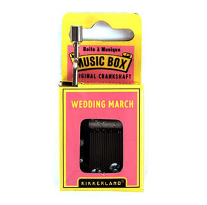 Wedding March Music Box