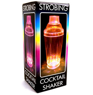 Colour Changing Strobing Cocktail Shaker Thumbnail 4