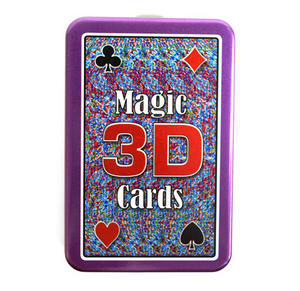 Magic 3D 'see Through' Trick  Playing Cards Thumbnail 3