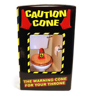Caution Cone Danger Toxic Gases Thumbnail 4