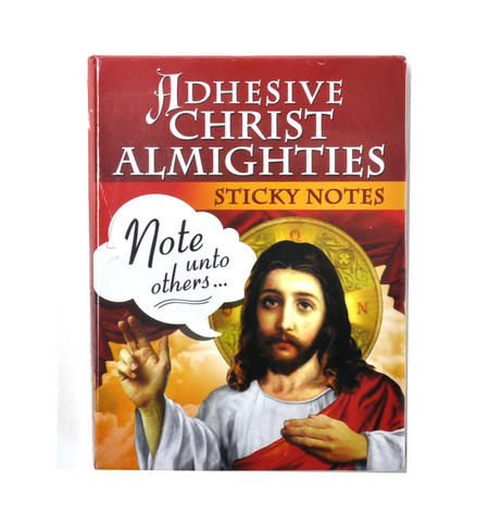 Adhesive Christ Almighties - Jesus Sticky Notes