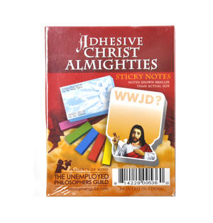 Adhesive Christ Almighties - Jesus Sticky Notes Thumbnail 4