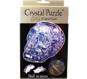 3D Crystal Puzzle - Skull Thumbnail 2