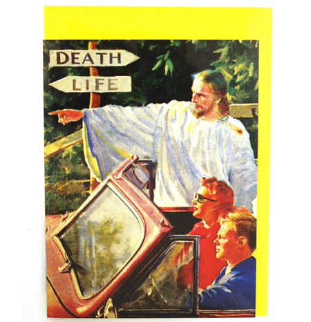 Greetings Card - Death / Life