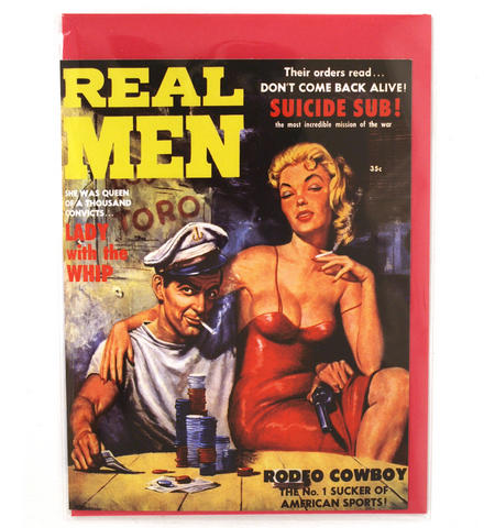 Greetings Card - Real Men