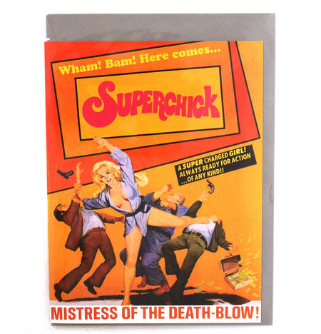 Greetings Card - Superchick