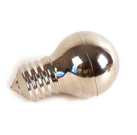 Lightbulb Magnetic Herb Grinder