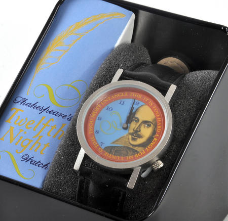 The Shakespeare Watch - The Wristwatch For Dramatists, Sonnet Writers And Actors