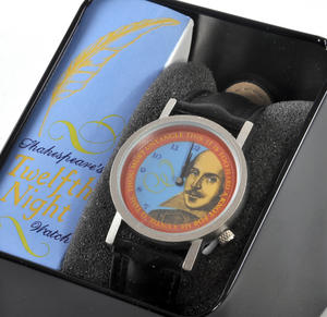 The Shakespeare Watch - The Wristwatch For Dramatists, Sonnet Writers And Actors Thumbnail 1
